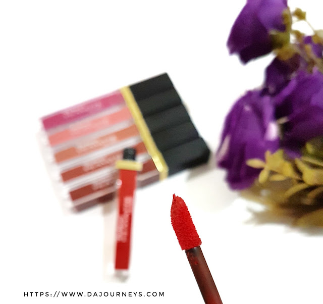 [Review] Purbasari Hi-Matte Lip Cream All NEW Shade