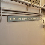 Mt Ku-ring-gai Walking Tack sign at station (422623)