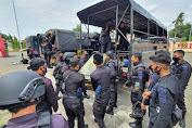 Pengamanan Pilkada di Bulukumba Telah Usai, Personel Brimob Batalyon C Pelopor Dipulangkan
