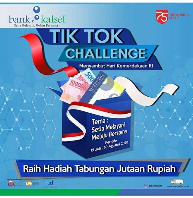 Wow, Ada Lomba Tik Tok Challenge Bank Kalsel
