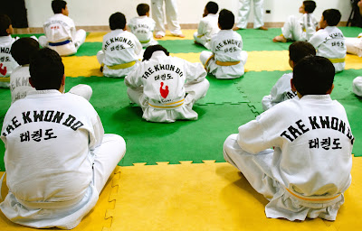 Refugio kids receive training