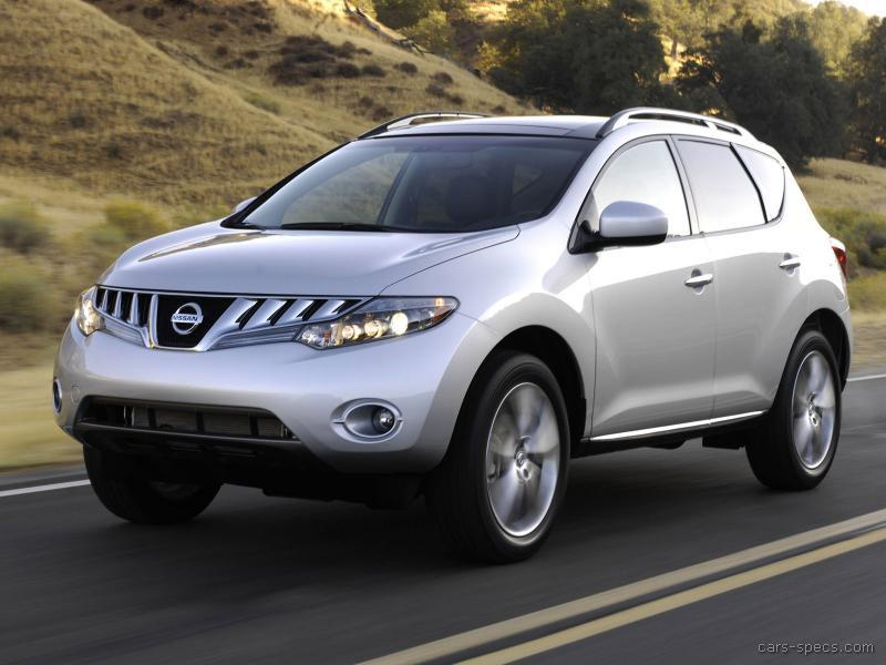 2009 nissan murano suv specifications pictures prices. Black Bedroom Furniture Sets. Home Design Ideas