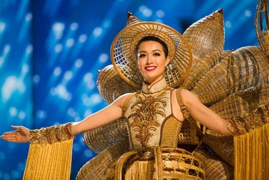 Le Hang, Miss Vietnam 2016 debuts her National Costume on stage at the Mall of Asia Arena on Thursday, January 26, 2017.  The contestants have been touring, filming, rehearsing and preparing to compete for the Miss Universe crown in the Philippines.  Tune in to the FOX telecast at 7:00 PM ET live/PT tape-delayed on Sunday, January 29, live from the Philippines to see who will become Miss Universe. HO/The Miss Universe Organization