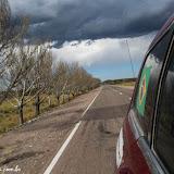 Fechou o tempo!!! a caminho de Malargue, Argentina