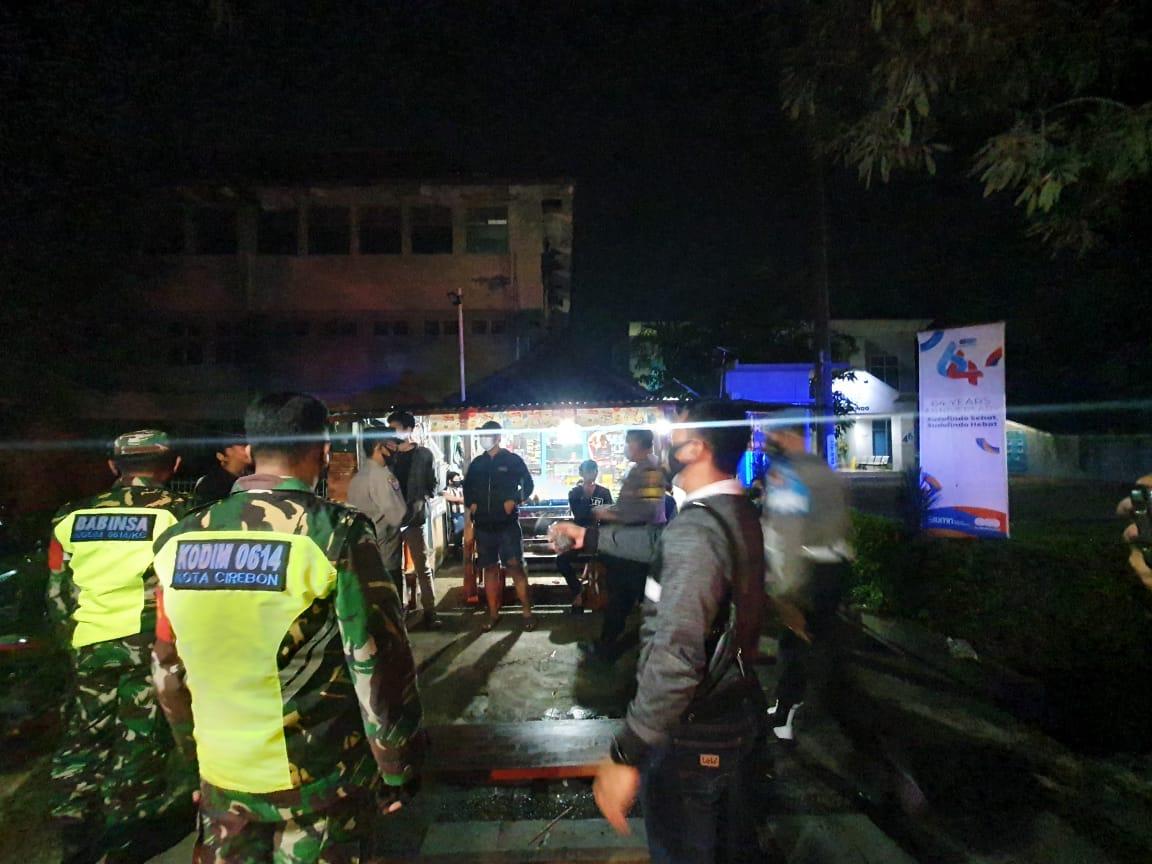 Operasi Yustisi Gabungan TNI - Polri Kota Cirebon Tindak Pelanggar Prokes