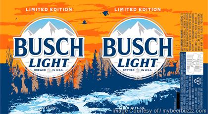 Busch light trophy cans 2018