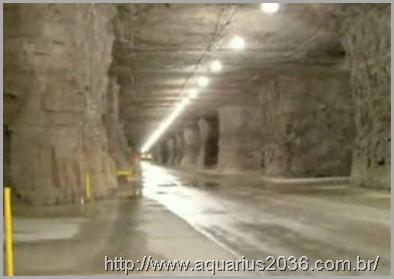 Bases Subterrâneas em dulce no Novo México