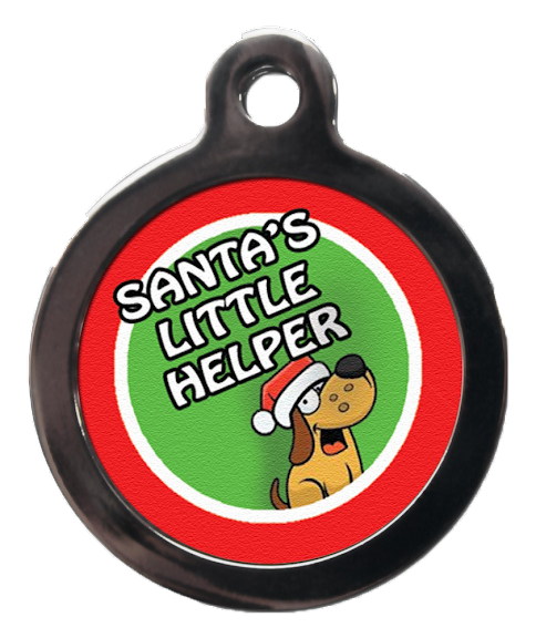 Christmas Dog ID Tags | Christmas Themed Pet ID Tags