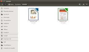 Elegantes miniaturas de tus documentos de LibreOffice en Ubuntu