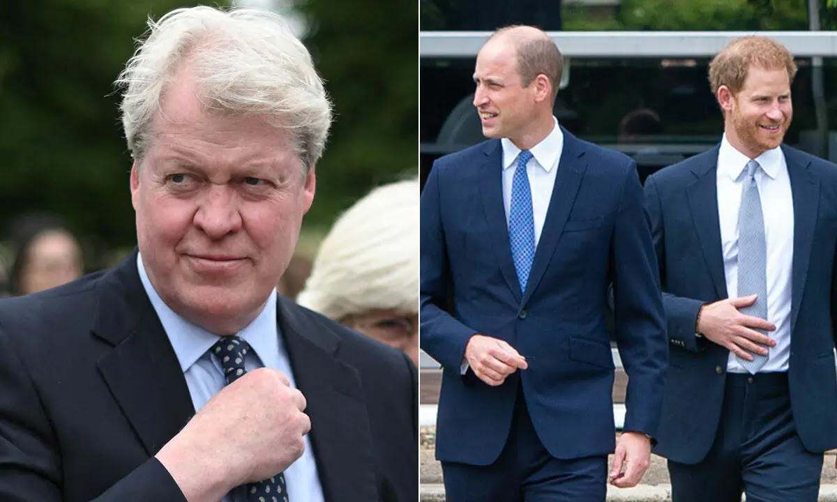 Charles Spencer Breaks Silence After Reuniting with Prince William and Prince Harry