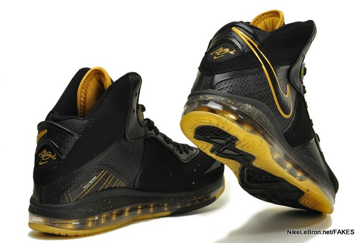 all black lebron 8