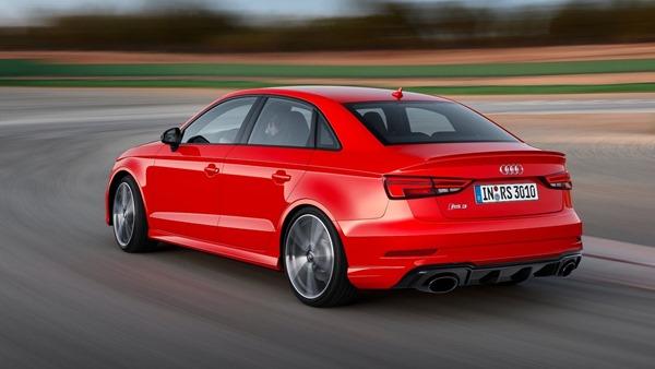 Audi RS3 Sedan rear