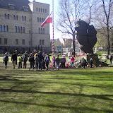 Przyjmujemy Klub z Wrocławia. Modlitwa pod pomnikiem katyńskim & gra miejska