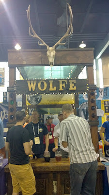 Other brewery booths of GABF 2015 - Wolfe