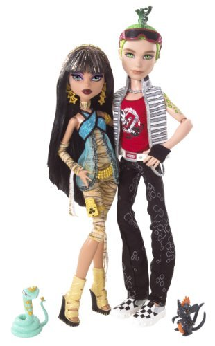 Cleo de Nile y Deuce Gorgon - Monster High