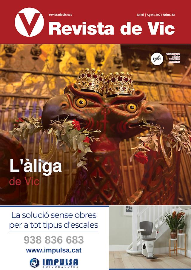 REVISTA DE VIC JULIOL - número 83  Bon Estiu! per Xavi Ruiz