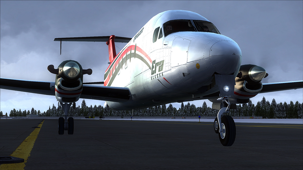 United Express Airplane