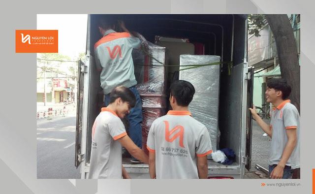 Xe tải 2 tấn chuyển nhà