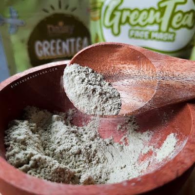 Daisy Organic Face Mask Green Tea