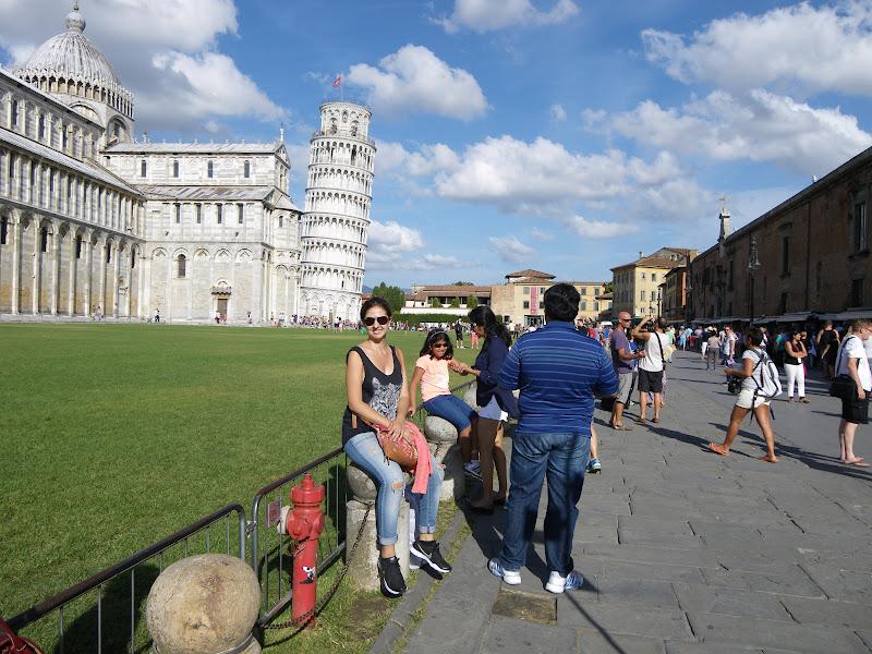 Pisa, viajar sola