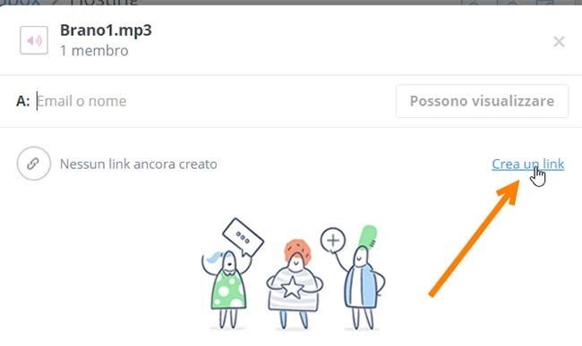 creare-link-dropbox