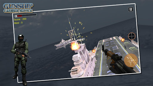 Gunship Navy Helicopter Strike