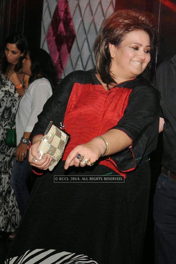 Poonam Sethi during the party, held at BW club, New Friends Colony.