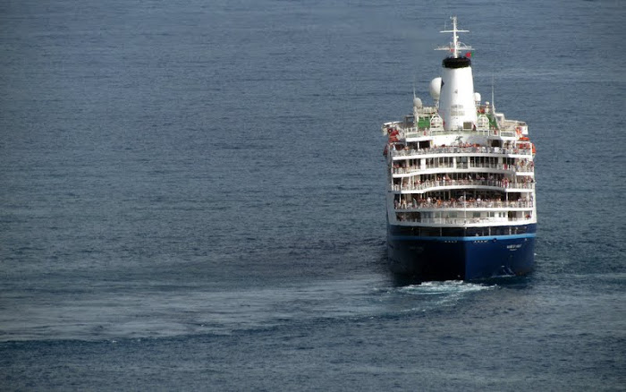 Marco Polo is going from Funchal port
