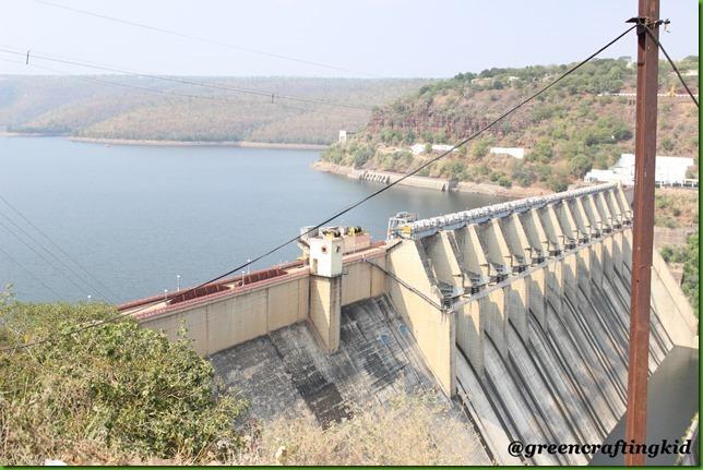 Srisailsilum Reservoir
