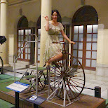 an old bicycle at the edo-tokyo museum in Japan in Tokyo, Tokyo, Japan