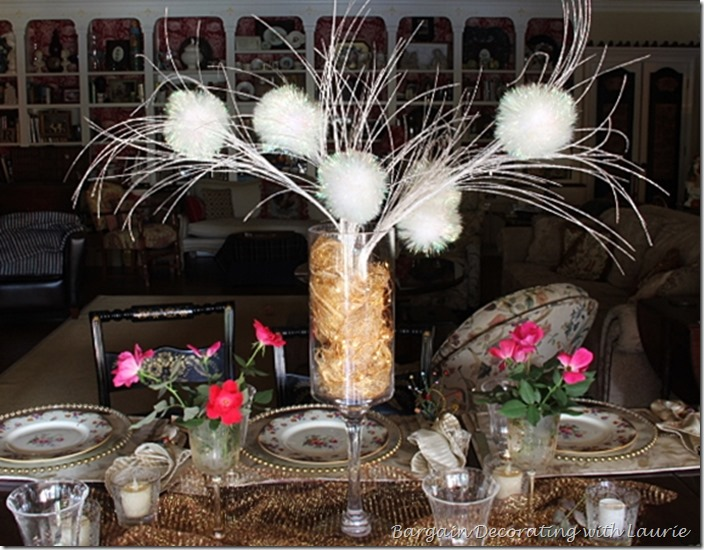 Tablescape for Teen Birthday Dinner