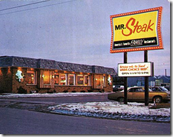 Typical 1970's Mr. Steak via Google Images