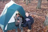 Tents setup