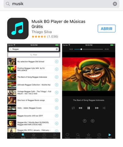 app music offline iphone gratis youtube