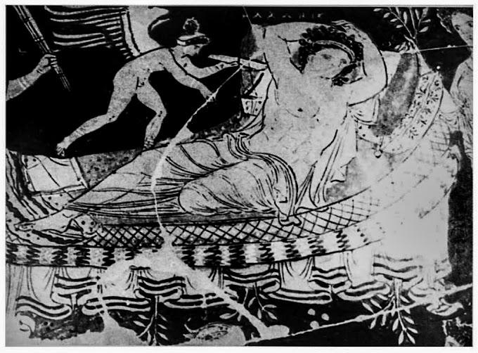 Πάνω σε οβελούς λοιπόν, συνήθιζαν να ψήνουν οι αρχαίοι Έλληνες ολόκληρα αρνιά και κατσίκια ...