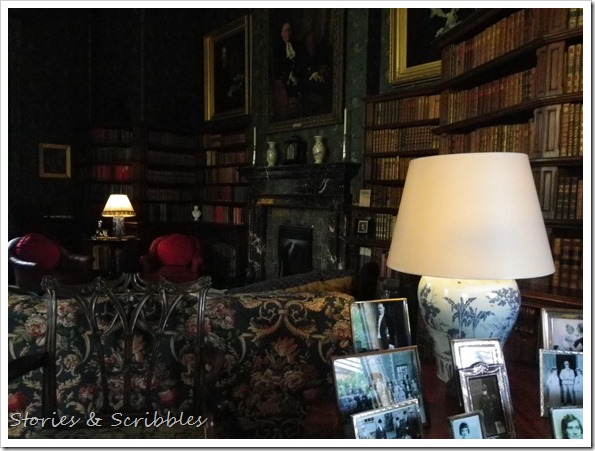 Dunster castle - The Library