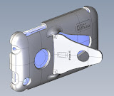 Another screenshot of the iPhone case.  The design is simple, yet pleasing with organic curves and transitions.