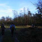 014-Nieuwjaarswandeling met de Bevers.Menno gidst ons door het mooie natuurgebied De Regte Heide te Go+»rle