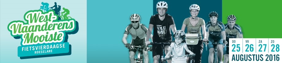 West-Vlaanderens Mooiste - De Roeselaarse fietsvierdaagse