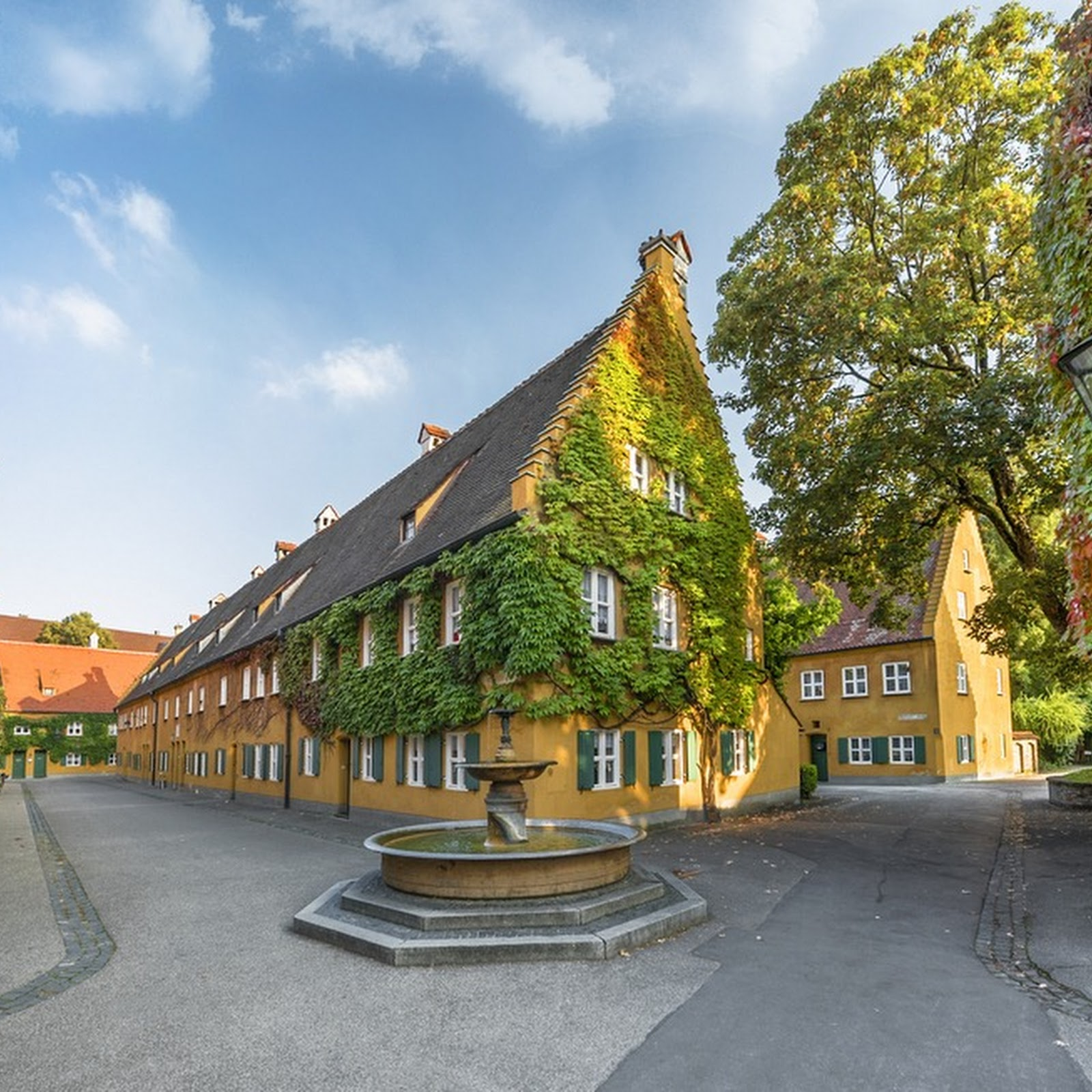 The Fuggerei: The World's Oldest Housing Complex Where Rents Haven't Gone Up For 500 Years