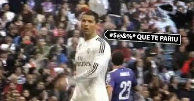 Cristiano Ronaldo insulta Gareth Bale no Real Madrid vs Espanhol
