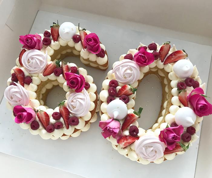 Torta de 60 años