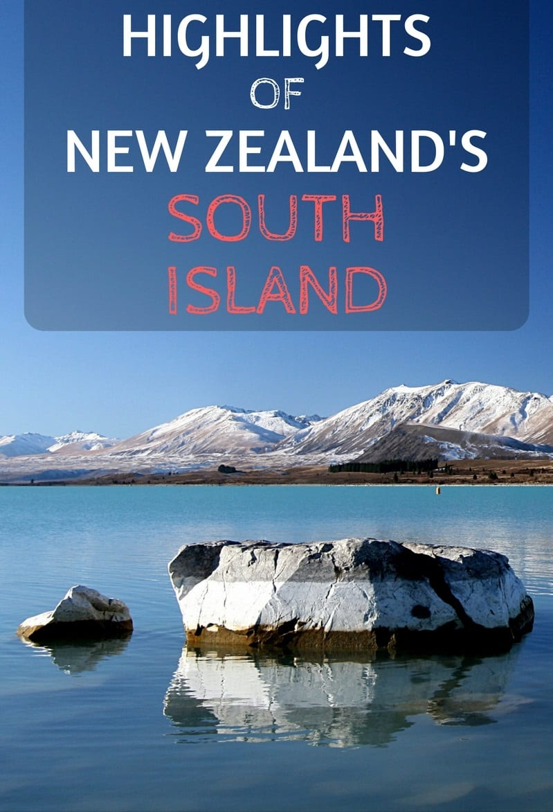 Highlights of New Zealand's south island including Karamea, Mount cook, Milford Sound and the glaciers, accompanied by spectacular photography.