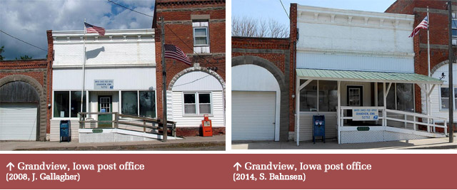 Grandview, IA post office