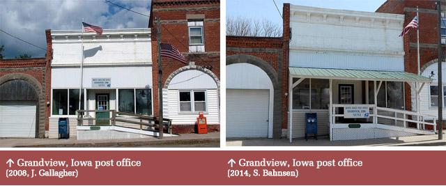 Grandview, IA post office