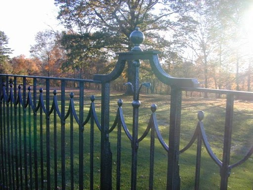 A special iron fence.