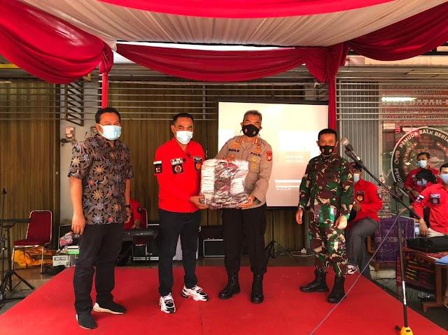 KBP Badya Wijaya,.SH,.MH ; Pemuda Batak Bersatu menjadi salah satu pelopor Jakarta Bermasker