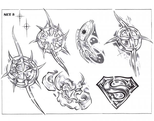 Design Of Magic Tattoo, Fantasy Tattoo Designs