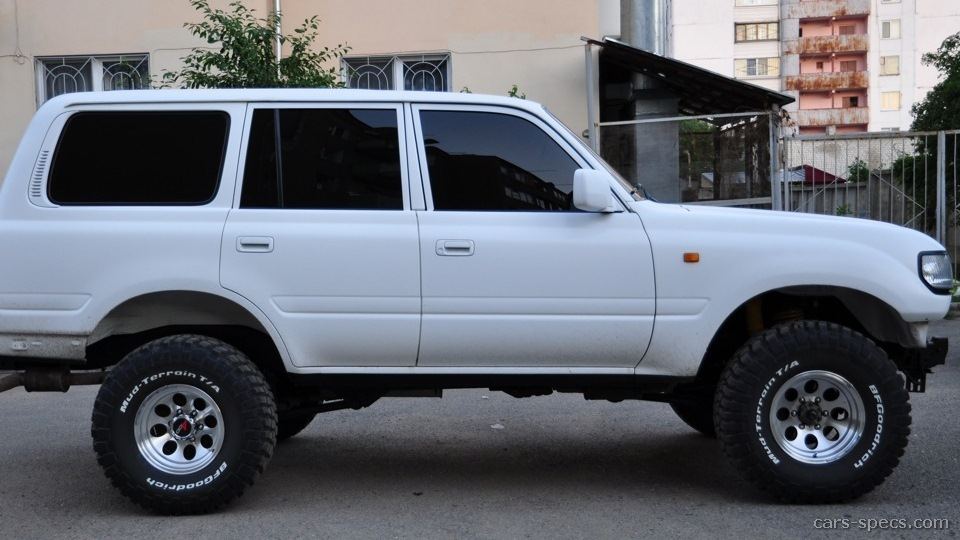 1993 toyota land cruiser suv specifications pictures prices. Black Bedroom Furniture Sets. Home Design Ideas