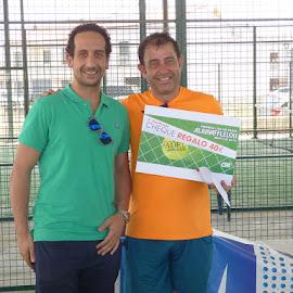 Trofeos liga Pádel Montijo